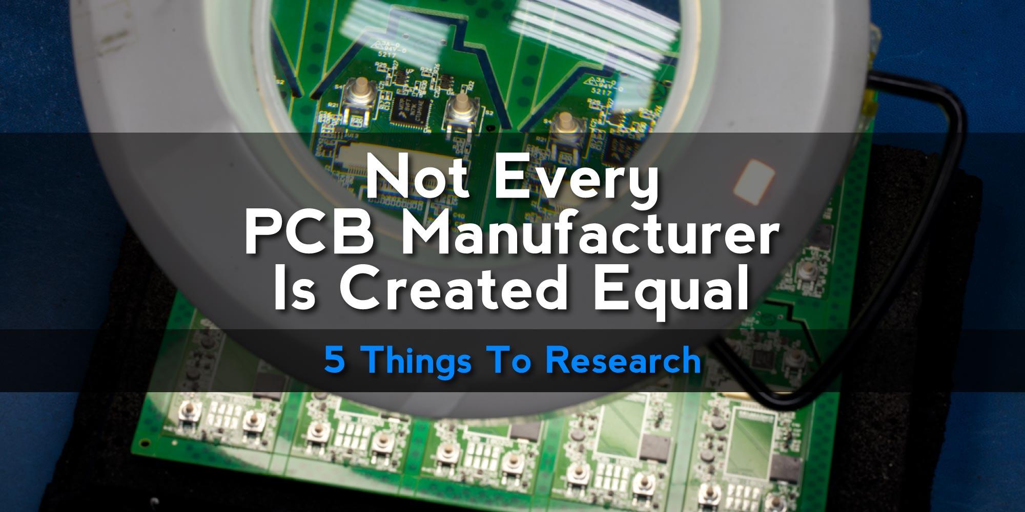 Electronics Manufacturing Blog - PCB, PCBA, Cable Assemblies, SMT