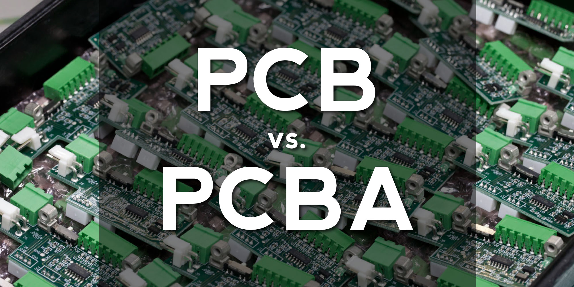 PCB vs PCBA | What is the difference between PCB and PCBA?